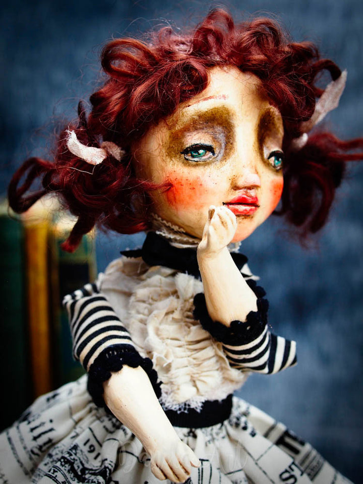 Maggie, Art Doll by Danita Art