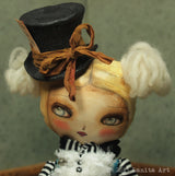 Mad Alice, Art Doll by Danita Art