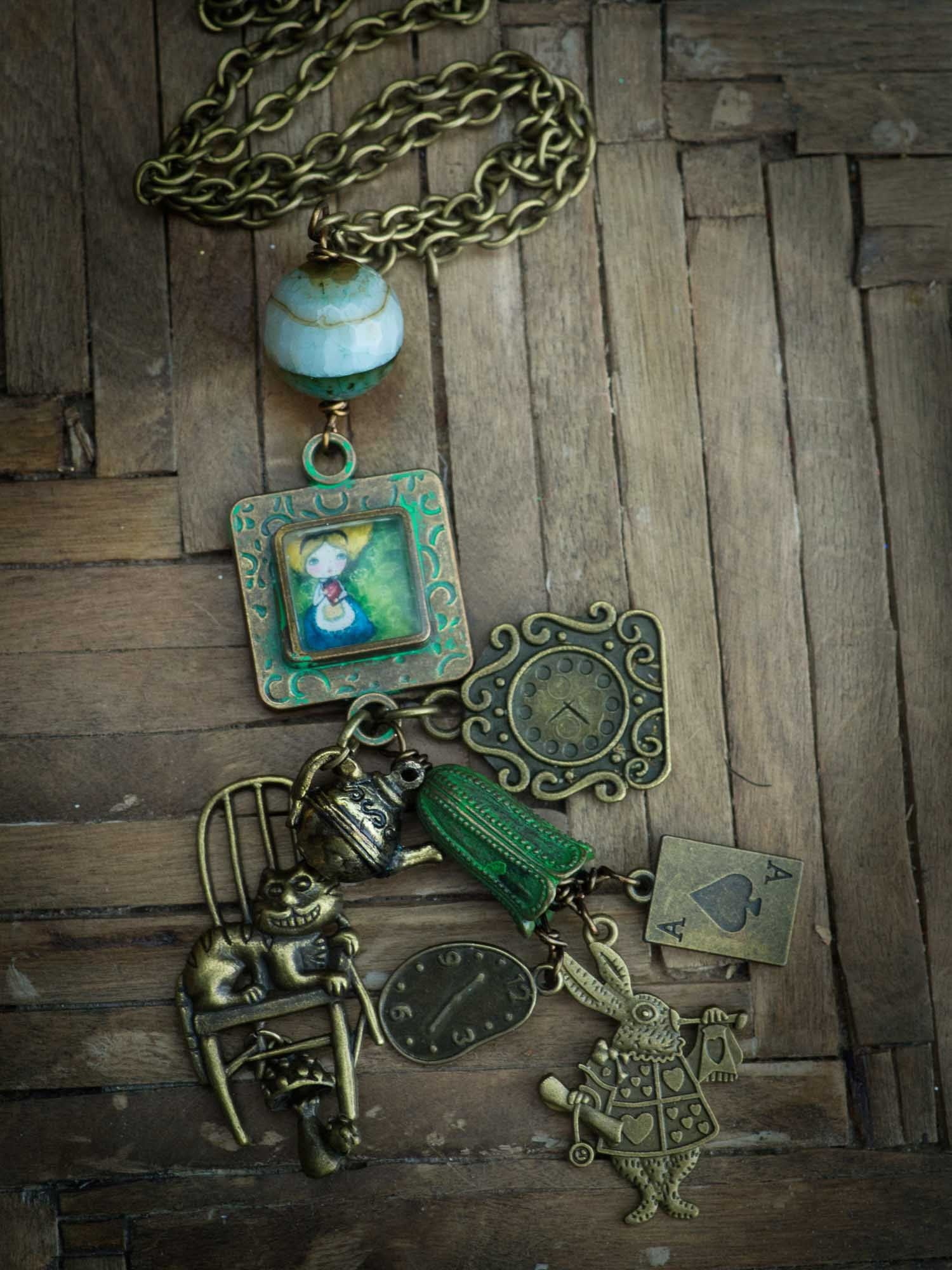 Danita loves the aged and worn look of old things, and she loves to capture that vintage feel on her unique original handmade jewelry.