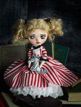 Candy Candy comes to life on this amazing art doll by danita.