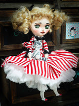 A beautiful curly blonde hair art doll by Danita, inspired by the Manga and TV series Candy Candy
