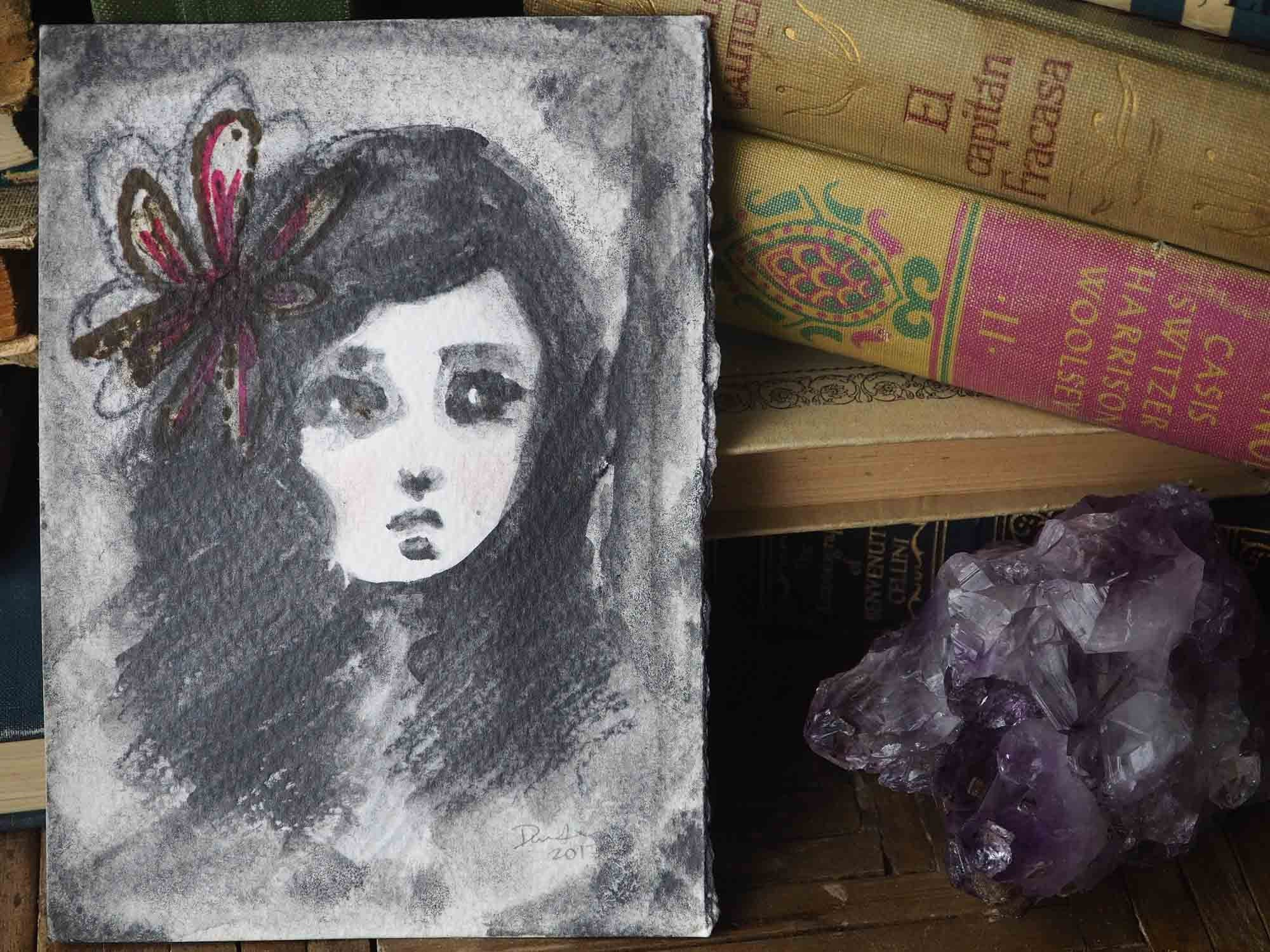 MARIANA, Original Art by Danita Art