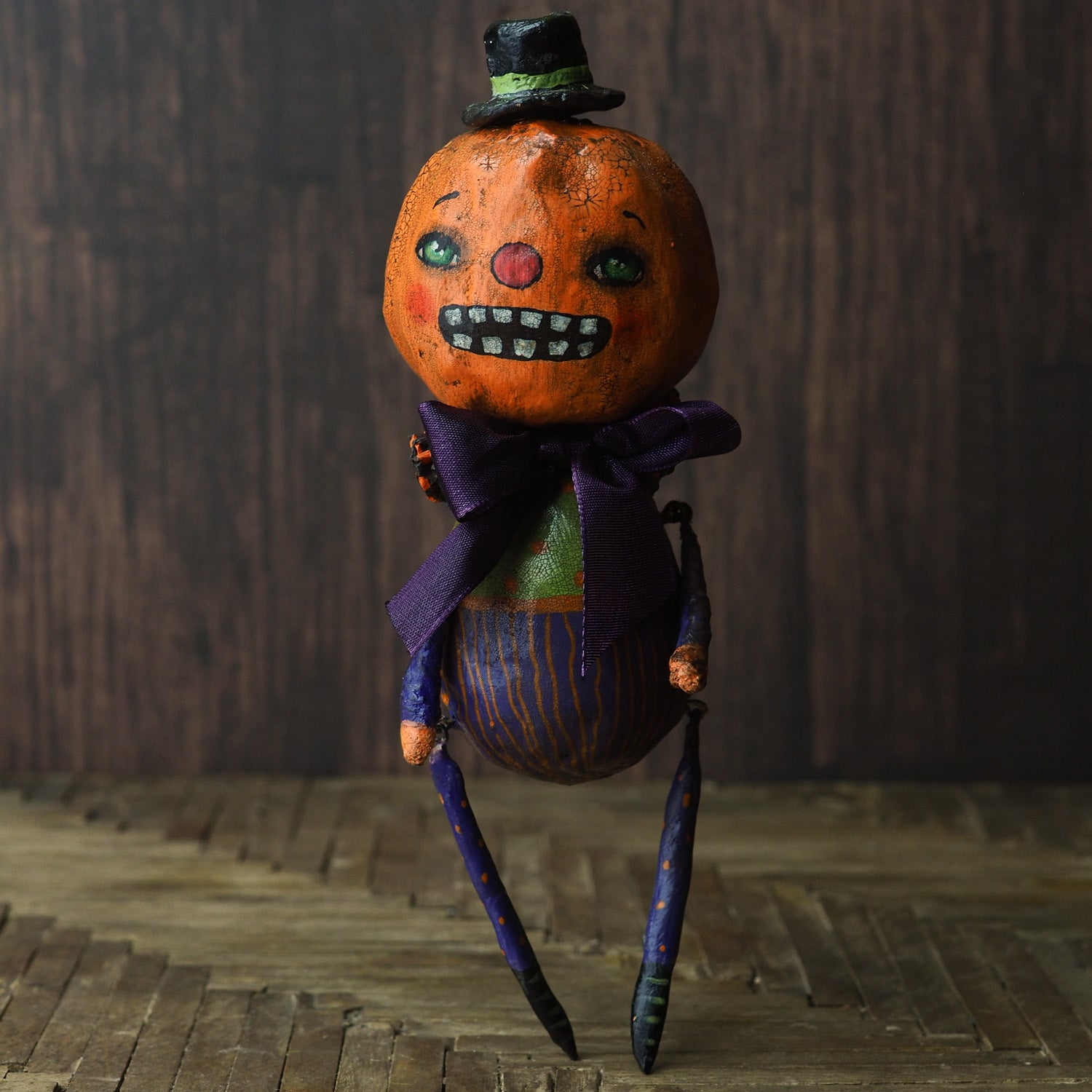 MR PUMPKIN, Art Doll EXCLUDE-SALE by Danita Art
