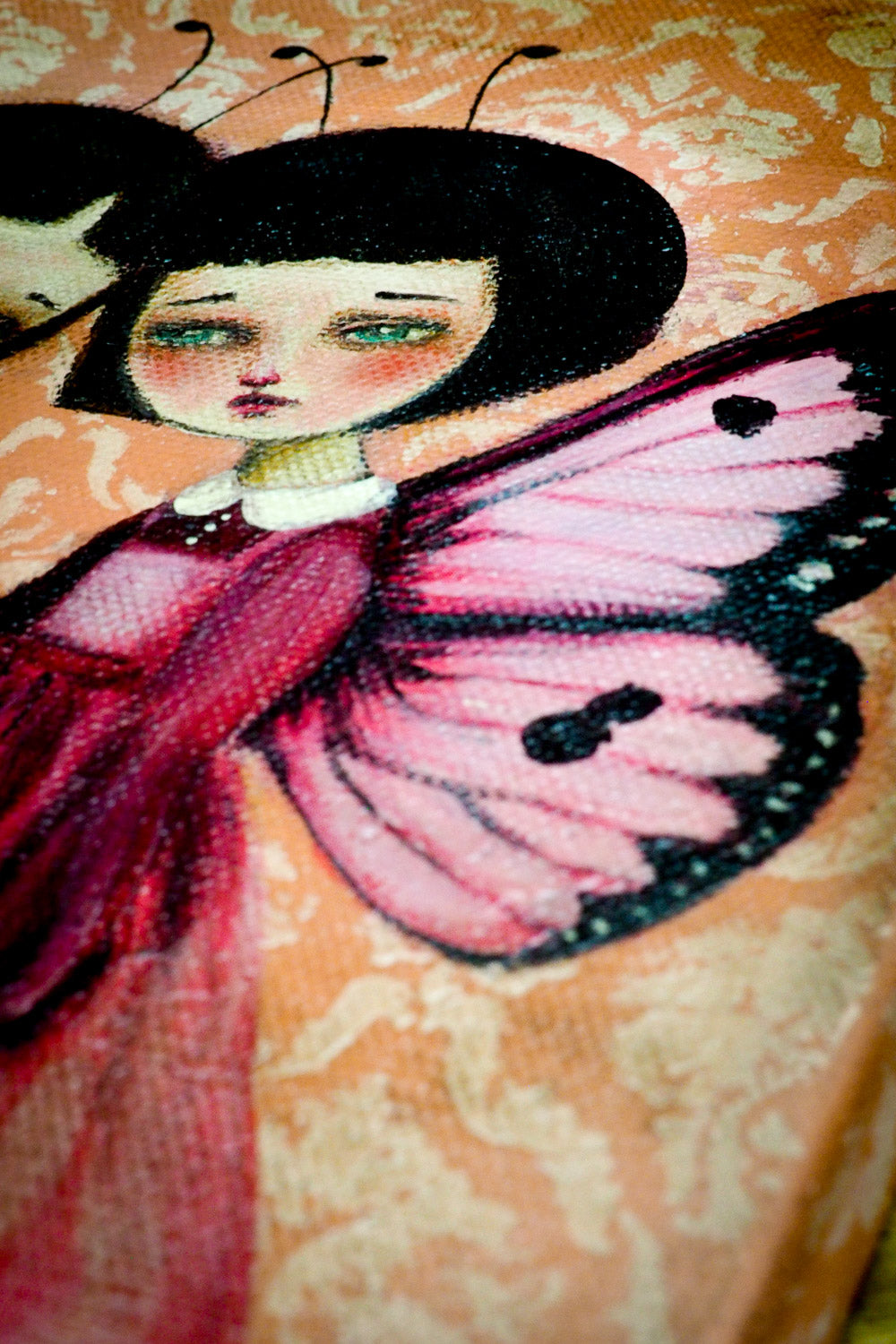 WE DREAM OF FLYING, Original Art by Danita Art