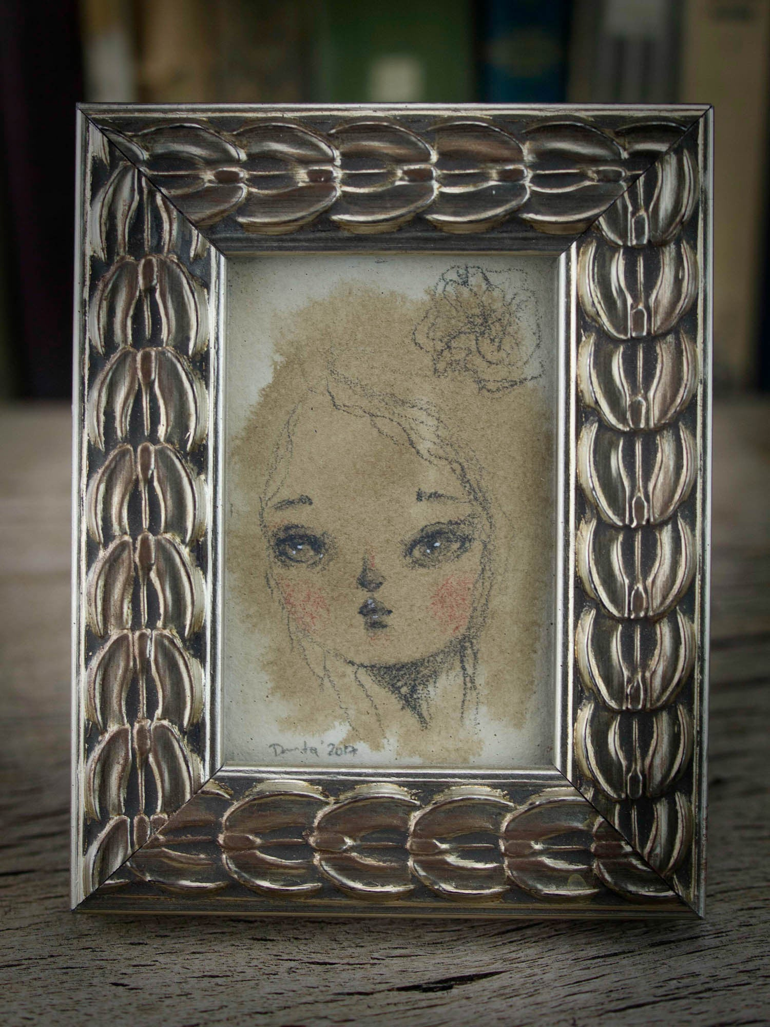 Claire, Original Art by Danita Art