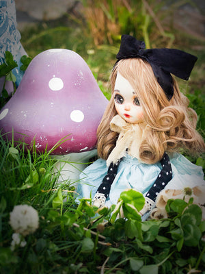 Drink me: Alice in Wonderland, Art Doll by Danita Art