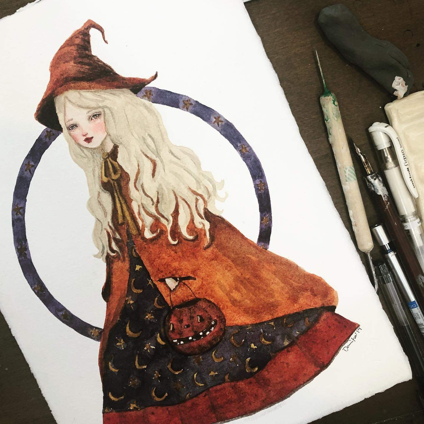 THE ORANGE WITCH