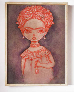 FRIDA'S GHOST, Art Prints by Danita Art