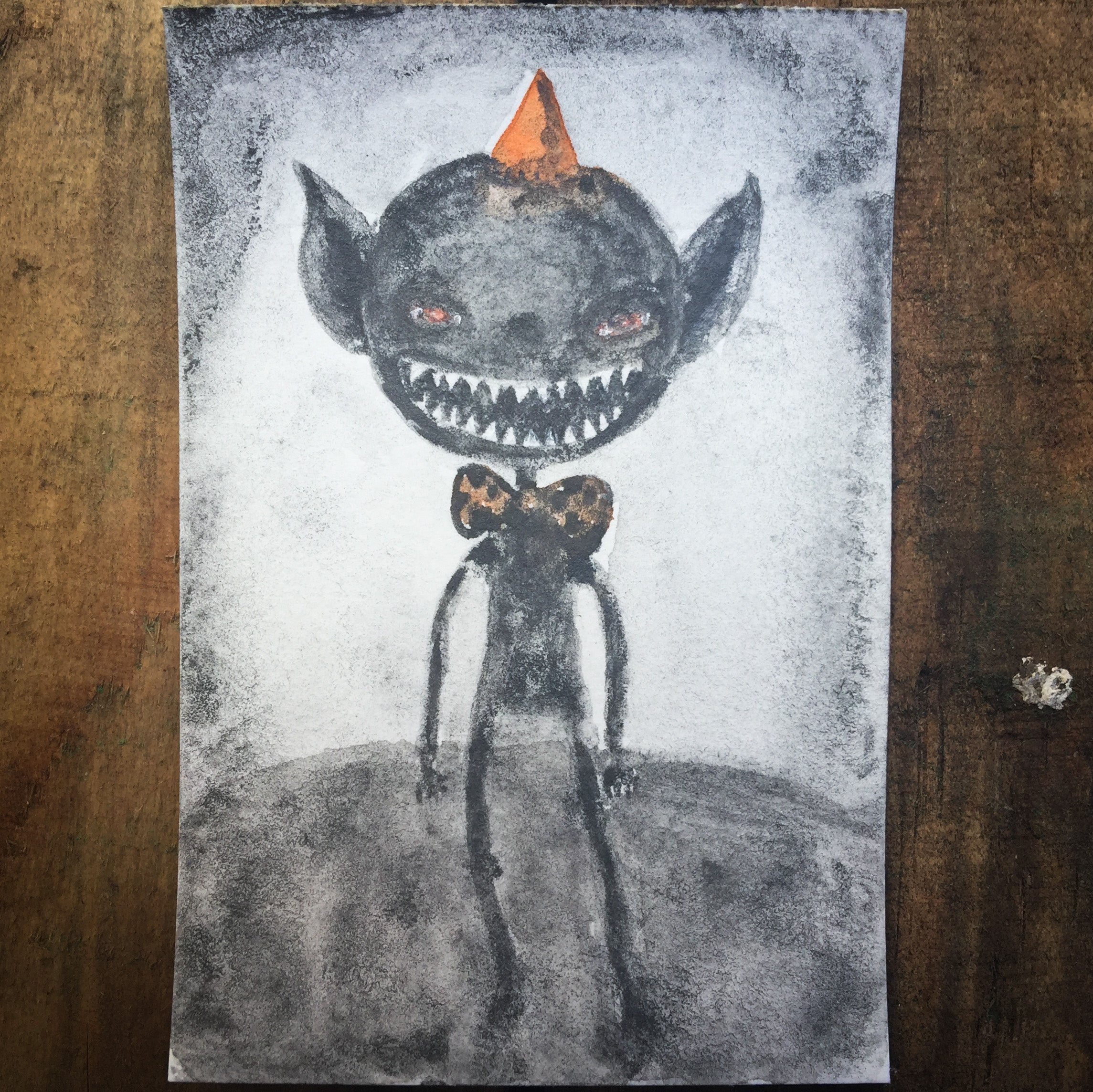 THE GOBLIN, Original Art by Danita Art