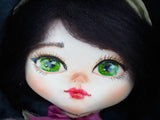 Only Danita knows how to make dolls with big, beautiful hand painted eyes that look at you full of life.