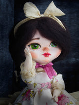 Nothing is more special than a Danita Art original doll. Unique and beautiful girls with bows and lovely real eyes.
