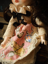 ALICE IN WONDERLAND - An original handmade art doll by Danita