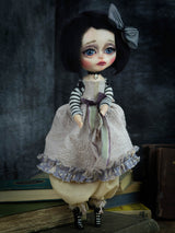 The Art Dolls Danita makes are one of a kind pieces of art. Sculpted and handmade, then hand painted with Danita's secret doll making techniques.