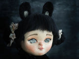 Danita learn how to make beautiful art dolls with life like faces, lively big eyes and a playful nature.