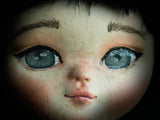 Danita has secrets to make art dolls with eyes that are a window to the soul on each one of her unique doll creations.