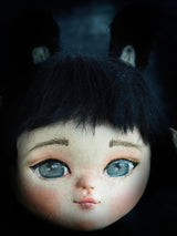 Danita uses amazing dollmaking techniques to make dolls with eyes that look alive, using mixed media, fabric and ceramics to create incredible doll toys.