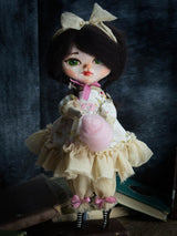 Danita knows how to pose her handcrafted art dolls to give them life like poses and expressions.