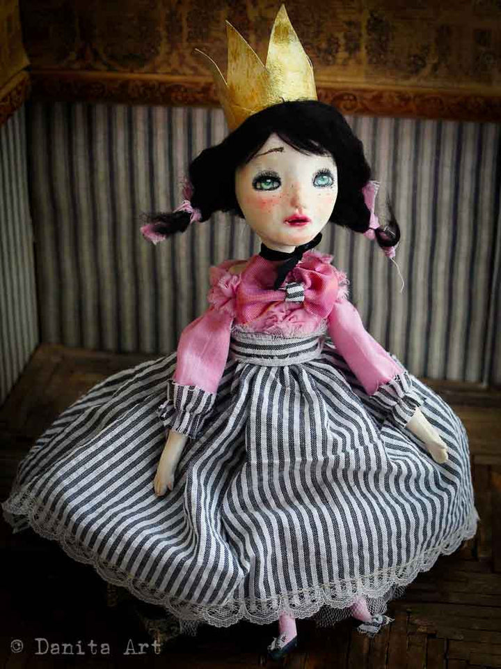 Emily, Art Doll by Danita Art