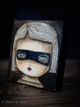 Agnes the witch., Original Art by Danita Art