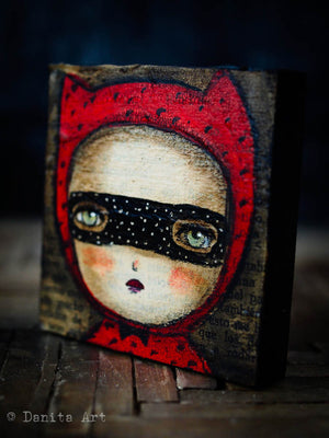 Alice the devilish girl., Original Art by Danita Art