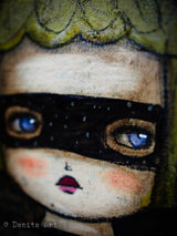 The beautiful eyes on Danita's paintings will mesmerize you. It will be a love spell!