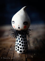 Spooky little ghost, Miniature Dolls by Danita Art