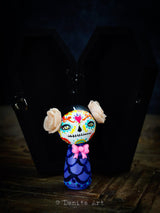 Catrina In Purple, Miniature Dolls by Danita Art