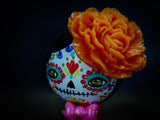 Catrina In Orange, Miniature Dolls by Danita Art