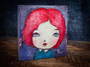 Ariel, Original Art by Danita Art