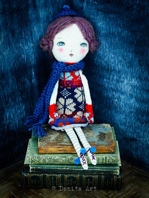 Arianna, Art Doll by Danita Art