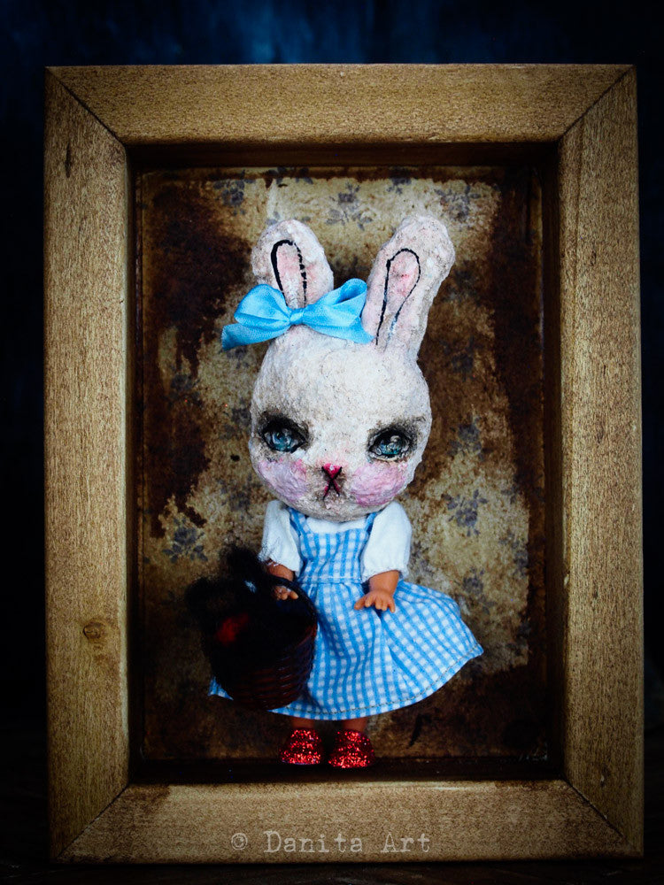 I've a feeling we're not in Kansas anymore, Art Doll by Danita Art