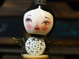 ANGEL No. 6 - An original handmade Christmas tree ornament by Danita