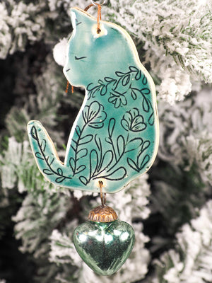 HOLIDAY CAT ORNAMENT #20