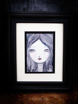Fading in the rain, Original Art by Danita Art