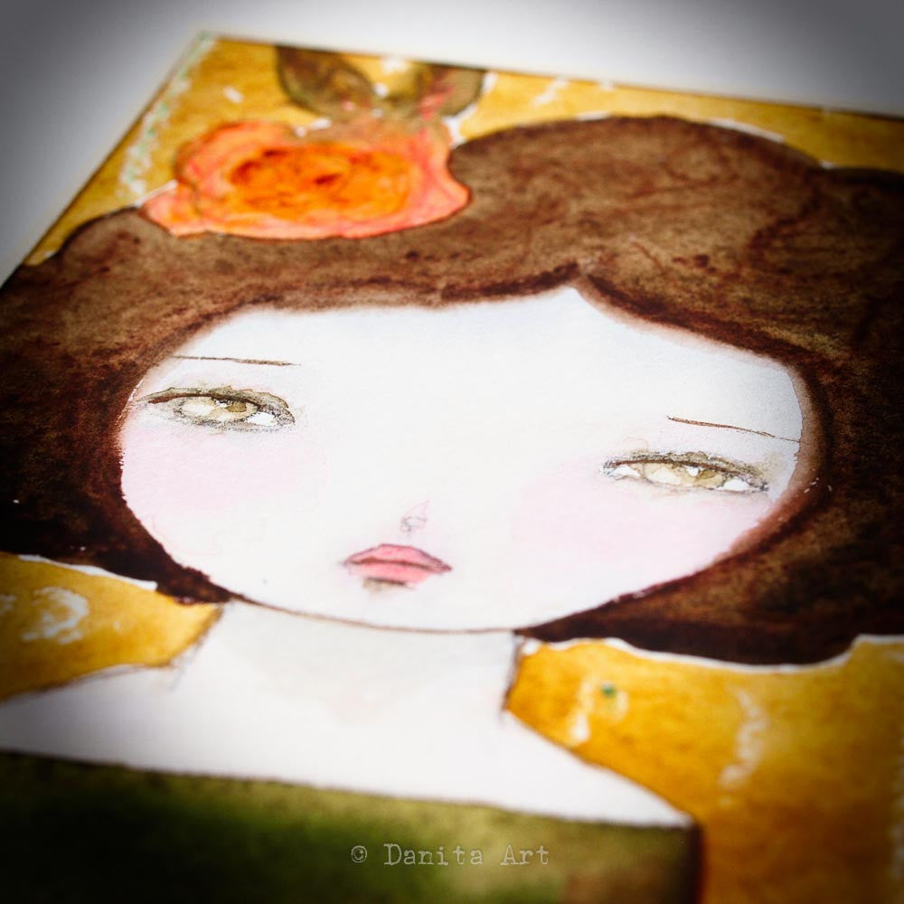 Autumn, Original Art by Danita Art