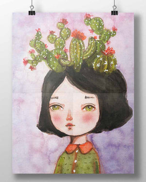 THE CACTUS GIRL