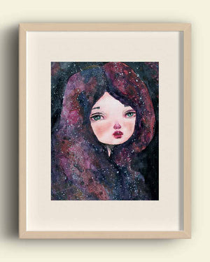 CASSIOPEIA, Art Prints by Danita Art