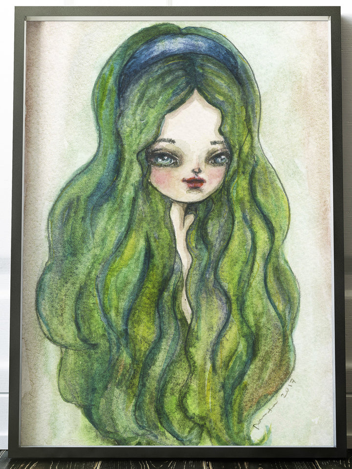 ESMERALDA, Original Art by Danita Art