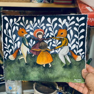 DANCING WITH FOXES