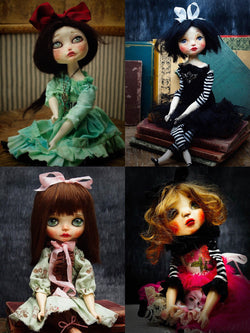 Amazing handmade art dolls created by the talented hands of Danita Art