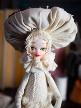MUSHROOM SPECIMEN N. 6 - Original woodlands handmade art doll by Danita Art