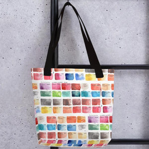 Watercolor Swatches Tote Bag