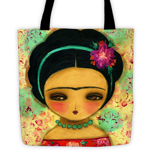 Blooming Frida, Home by Danita Art