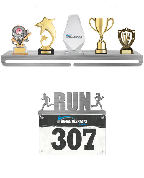 Trophy and Bib Displays