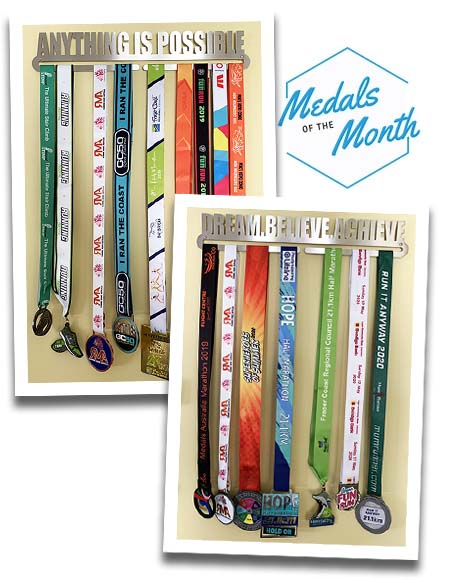 Medals of The Month Melanie