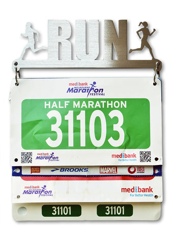 Race Bib Display Hanger