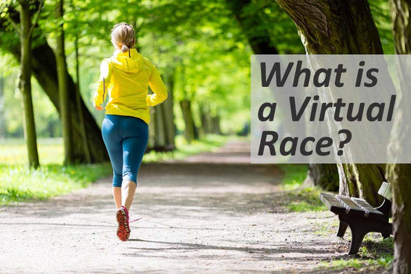 What is a virtual race?