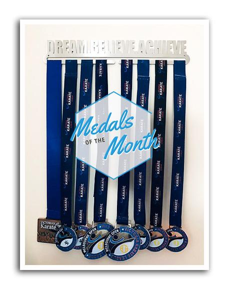 Medal Display Hanger - Dream. Believe. Achieve.™