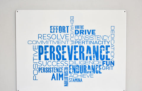 Metal Wall Sign - Perseverance™