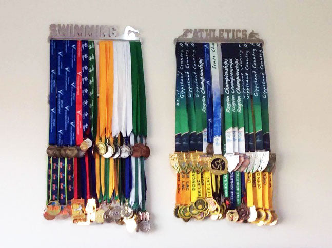 Swimming Medal Display Hanger